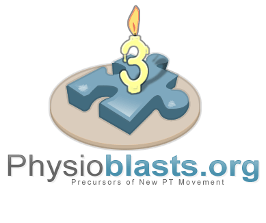 Physioblasts.Org 3rd Anniversay